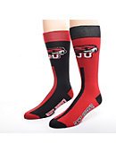 Saint Joseph's University Women's Thin Mismatched Boot Socks