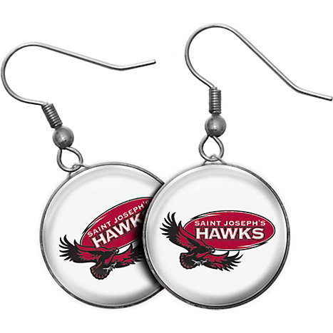 Product: Saint Joseph's University Hawks Earrings
