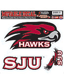Saint Joseph's University Hawks Moveable Decal