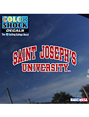 Saint Joseph's University Decal