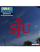 Saint Joseph's University Decal Alternate