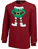 Saint Joseph's University Youth Christmas Long Sleeve T-Shirt