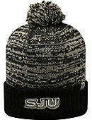 Saint Joseph's University Hawks Pom Knit Cuffed Cap