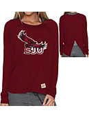 Saint Joseph's University Women's Long Sleeve Splitback T-Shirt