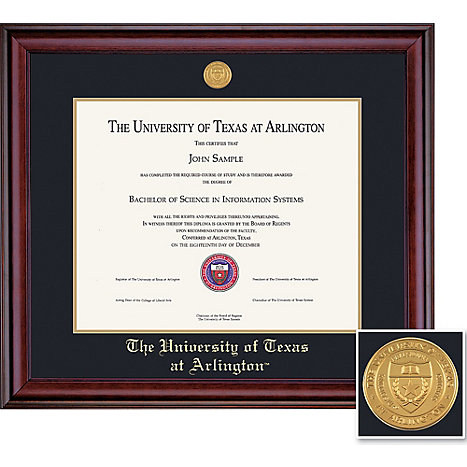 University Of Texas At Arlington 11 X 14 Classic