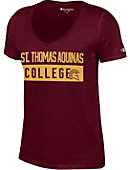 St. Thomas Aquinas College Spartans Women's V-Neck T-Shirt