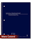 Loyola Marymount University 100 Sheet Notebook