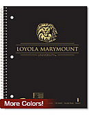 Loyola Marymount University Lions 100 Sheet Notebook