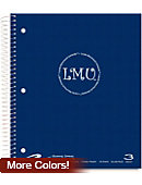 Loyola Marymount University 120 Sheet Three-Subject Notebook