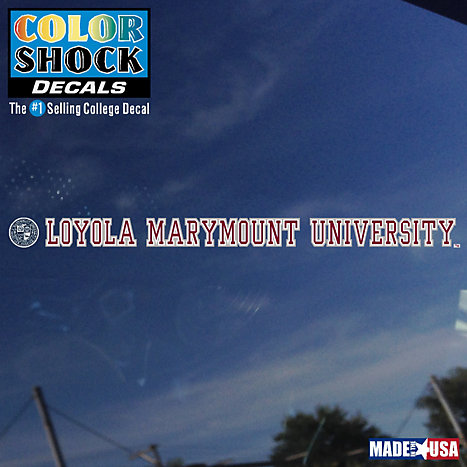 Product: Loyola Marymount University Strip Decal