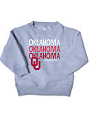 University of Oklahoma Sooners Toddler Crewneck Sweatshirt