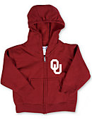 University of Oklahoma Toddler Full-Zip Hooded Sweatshirt