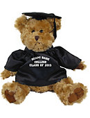 Miami Dade College 10 in. Cap and Gown Plush Bear