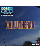 California Lutheran University Decal Primary