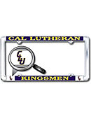 California Lutheran University Kingsmen Thin Dome License Plate Frame
