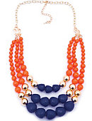 Pepperdine University Terrace Statement Necklace