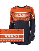 Pepperdine University Women's Long Sleeve Ugly Sweater Ra Ra Shirt