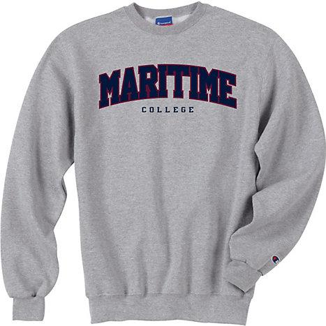 SUNY Maritime College Crewneck Sweatshirt   SUNY Maritime College