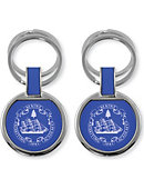 Maine Maritime Academy Double Ring Key Chain