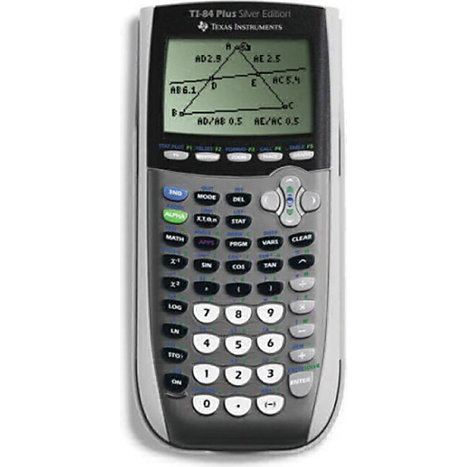 Product: TI84PLUS SLVR GRPH 9XM CALCULATOR