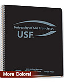 University of San Francisco NOTETOTE 100SH 1SU/BLACK/    .