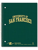 University of San Francisco 80 Sheet One-Subject Notebook