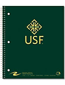 University of San Francisco 120 Sheet 3 Subject Notebook