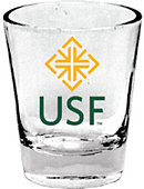 University of San Francisco 1.5 oz. Collector's Glass