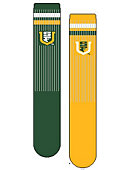 University of San Francisco Women's Mismatch Socks