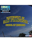 University of San Francisco School of Business Decal