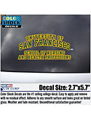 University of San Francisco School of Law Decal