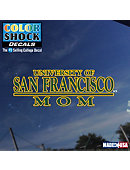 University of San Francisco Mom Decal