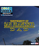 University of San Francisco Dad Decal