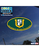 USF Oval Decal