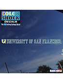 University of San Francisco Strip Decal