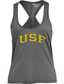 University of San Francisco Women's Athletic Fit Swing Tank Top