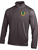 University of San Francisco Double Dry 1/4 Zip Fleece Performance Pullover