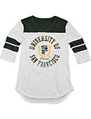 University of San Francisco Dons Women's 3/4 Sleeve Top