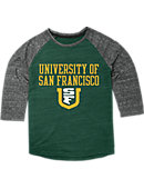 University of San Francisco Women's 3/4 Sleeve T-Shirt