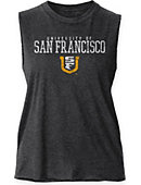 University of San Francisco Dons Women's Muscle Tank Top