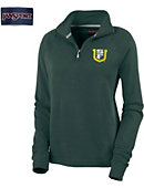 University of San Francisco Women's 1/4 Zip Chelsea Fleece Pullover