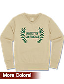 University of San Francisco Women's Fleece V-Neck Fleece Sweater