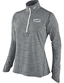 Nike University of San Francisco 1/4 Zip Womens' Heathered Dri-Fit Top