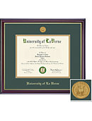 University of La Verne 8.5'' x 11'' Windsor Diploma Frame