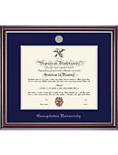Georgetown University Jefferson Diploma Frame