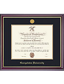 Georgetown University 14'' x 17'' Windsor Diploma Frame