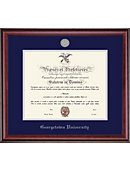 Georgetown University 20'' x 16'' Classic Diploma Frame with Lithograph