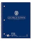 Georgetown University 100 Sheet One-Subject Notebook