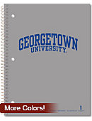 Georgetown University 80 Sheet One-Subject Notebook