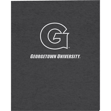 Product: Georgetown University Recycled Two-Pocket Portfolio
